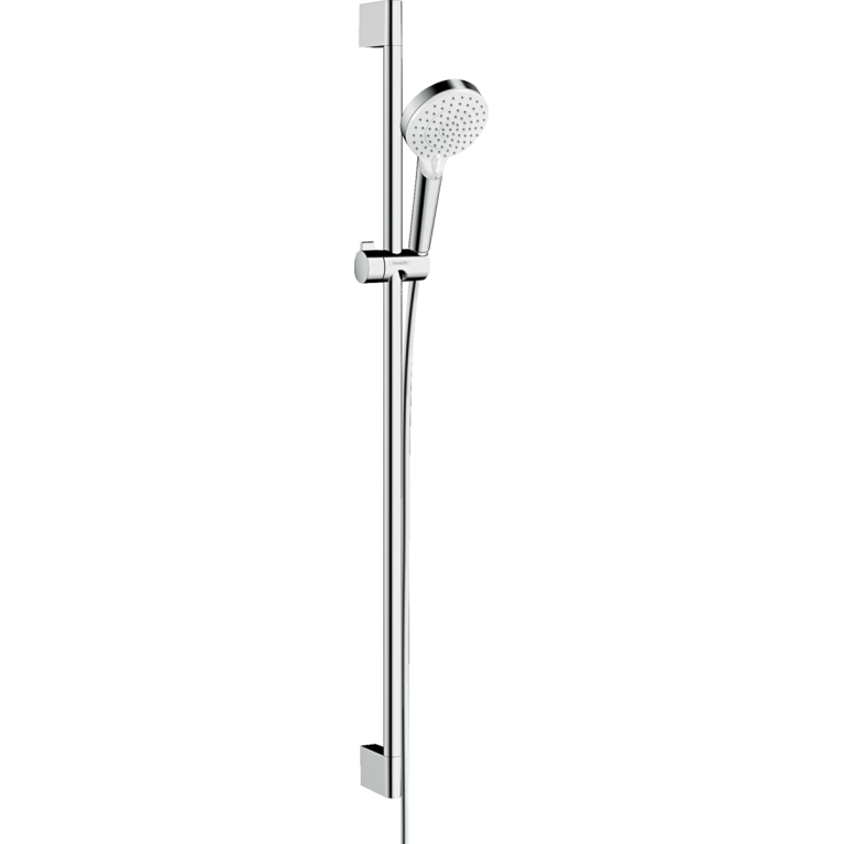 Crometta Vario Душевой набор, штанга 90 см белый/хром, фото 1