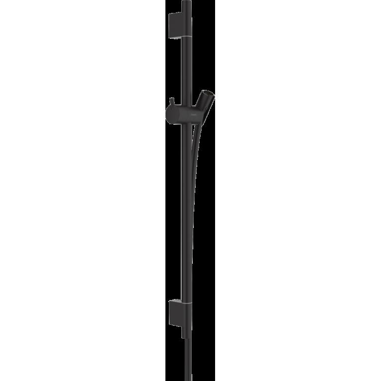 Unica Душевая штанга S Puro 65 см, со шлангом, цвет матовый черный, фото 1