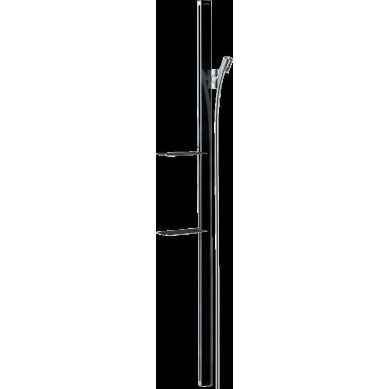 Unica Душевая штанга E 150 см со шлангом (черный / хром), фото 1