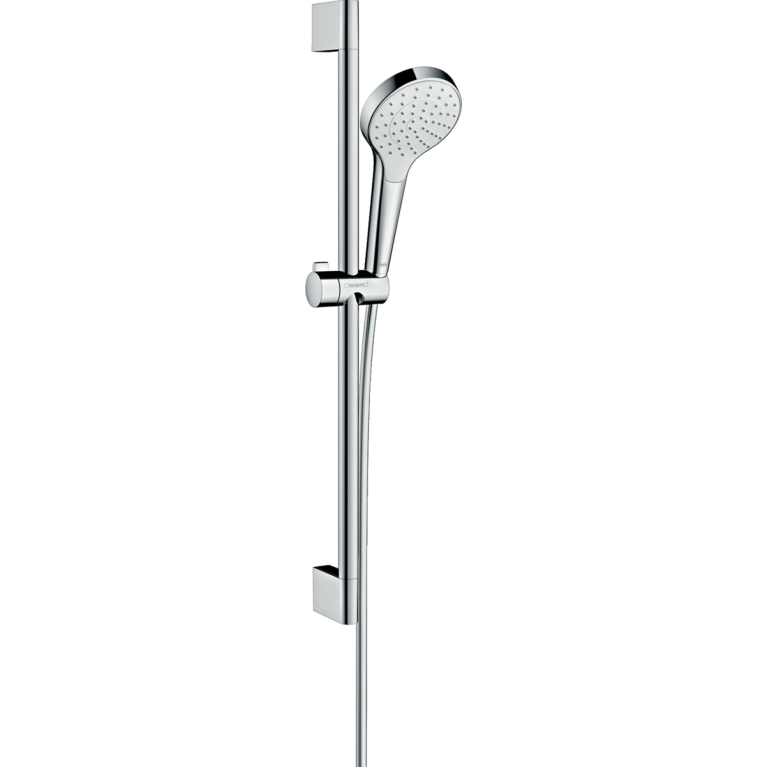 Croma Select S Душевой набор со штангой 65 см (белый / хром), фото 1