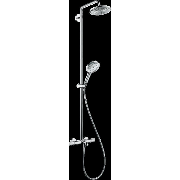 Raindance Select S 240 1jet Showerpipe Душевая система для ванны с термостатом, фото 1