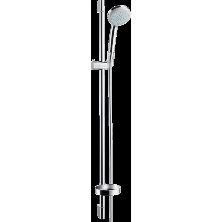 Croma 100 Душевой набор Vario со штангой 90 см и мыльницей, фото 1