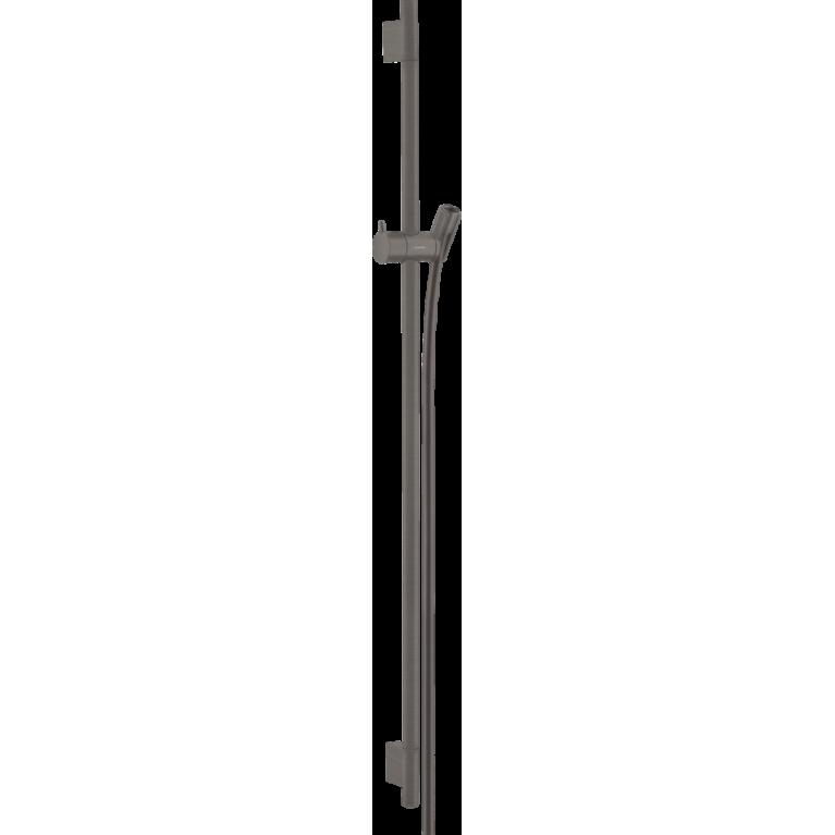 Купить Unica Душевая штанга S Puro 90 см со шлангом (шлиф. черный хром) у официального дилера HANSGROHE в Украине