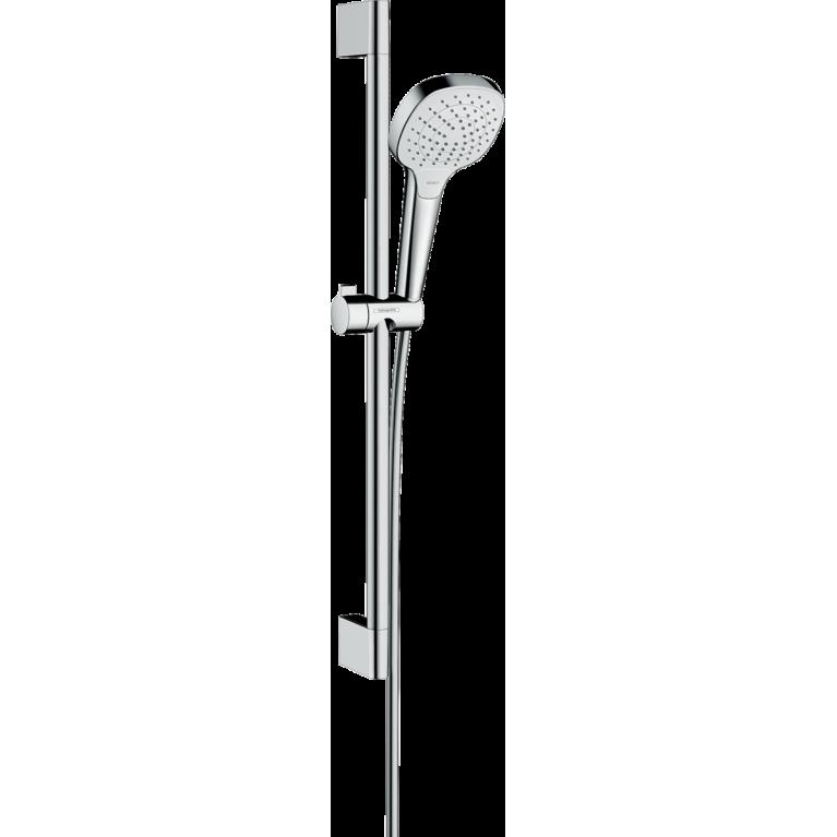 Croma Select E Vario Душевой набор со штангой 65 см (белый / хром), фото 1