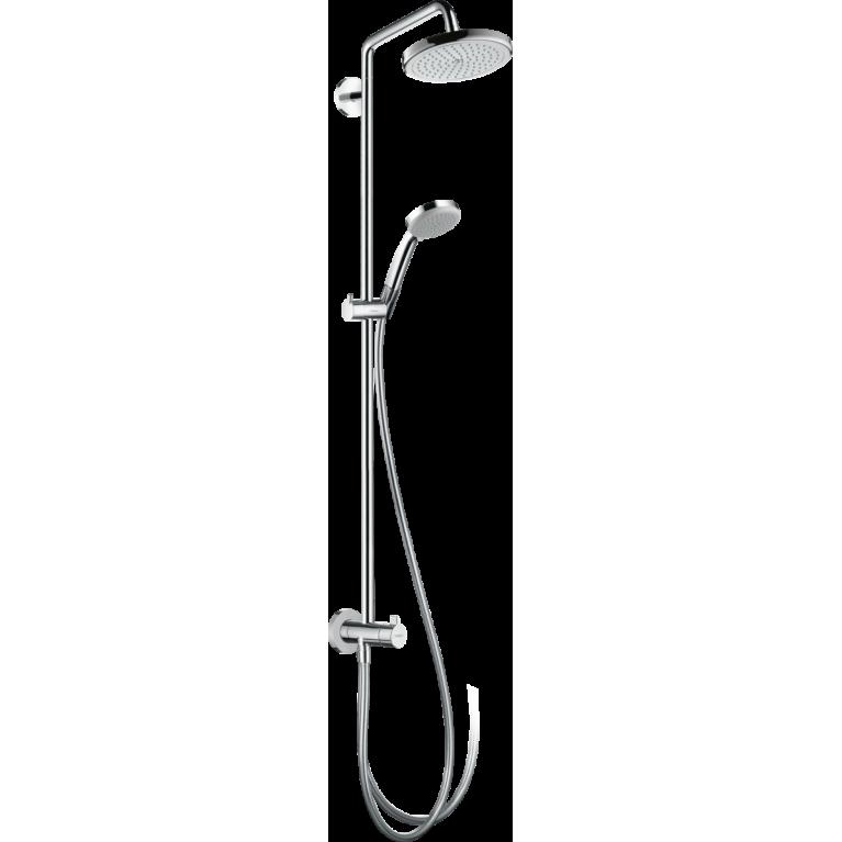 Croma Showerpipe 220 1jet Reno Душевая система, фото 1