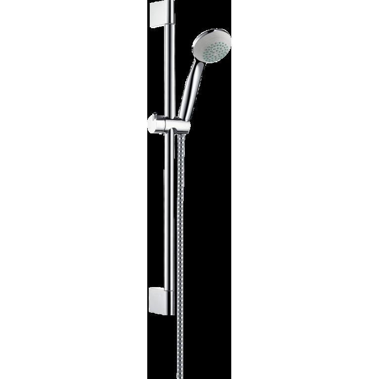 Купить Crometta 85 Душевой набор Mono, штанга 65 см хром у официального дилера HANSGROHE в Украине