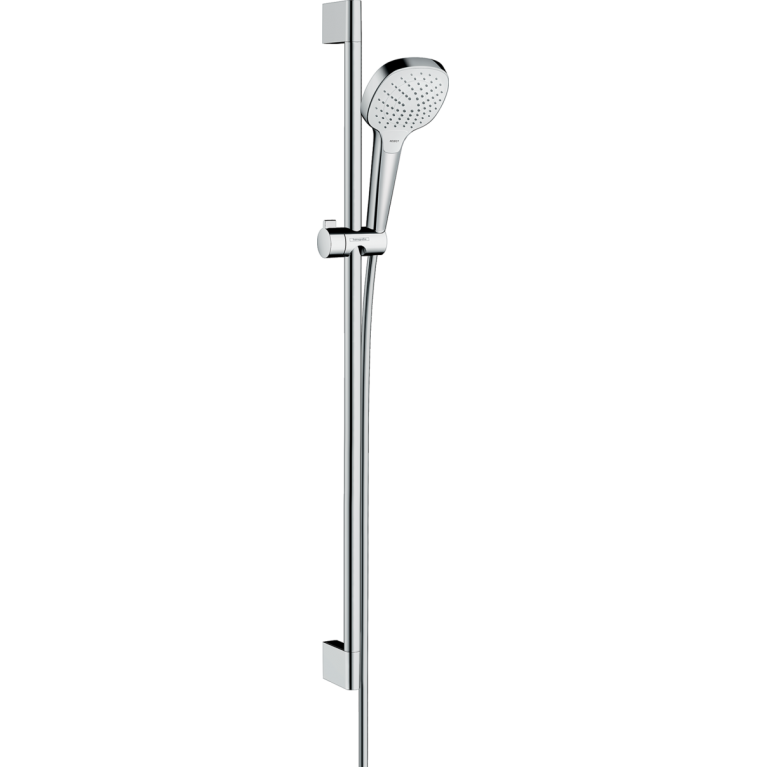 Croma Select E Vario Душевой набор  EcoSmart 9л/мин 0,90м, белый/хром, фото 1