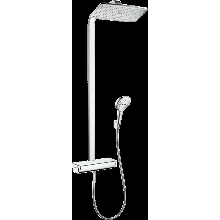 Raindance E Showerpipe 360 1jet EcoSmart Душевая система с термостатом, фото 1