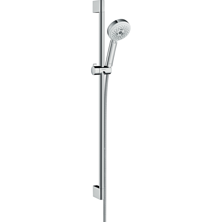 Crometta 100 Душевой набор Multi штанга 90 см, белый / хром, фото 1