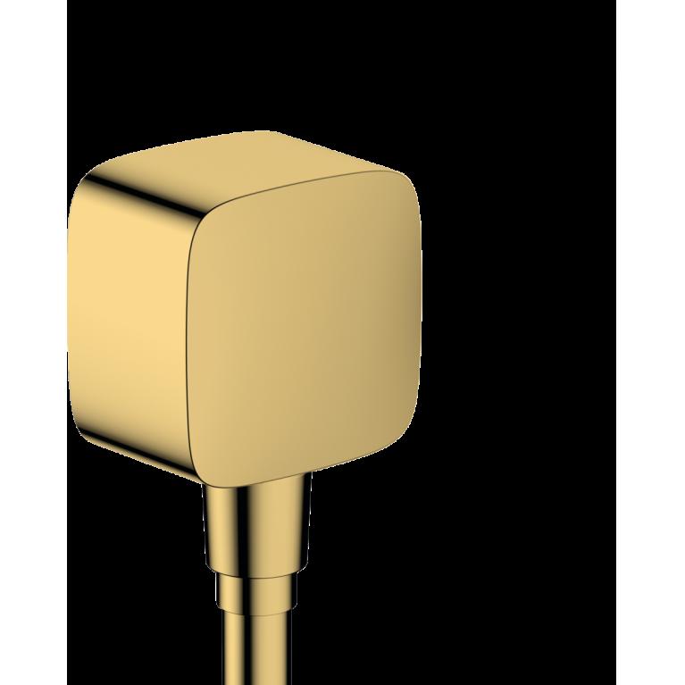 FIXFIT шланговое подсоединение, цвет покрытия полированное золото, фото 1