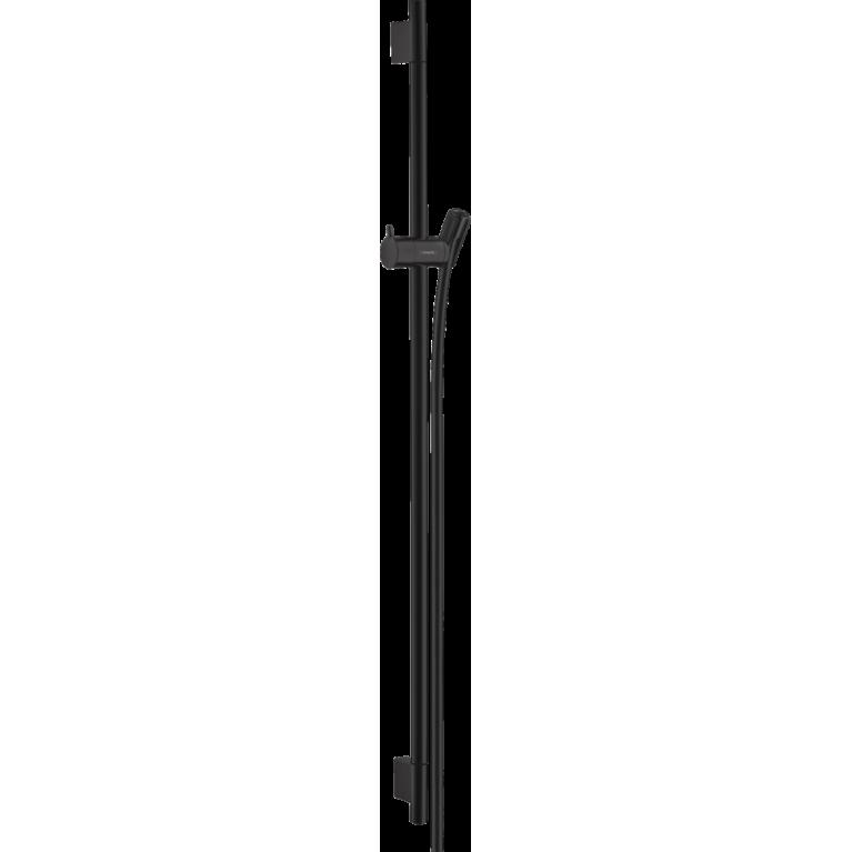 Unica Душевая штанга S Puro 90 см со шлангом, цвет матовый черный, фото 1