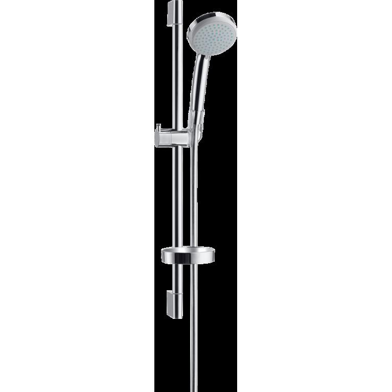 Croma 100 Душевой набор Vario EcoSmart 65 см, с мыльницей, фото 1