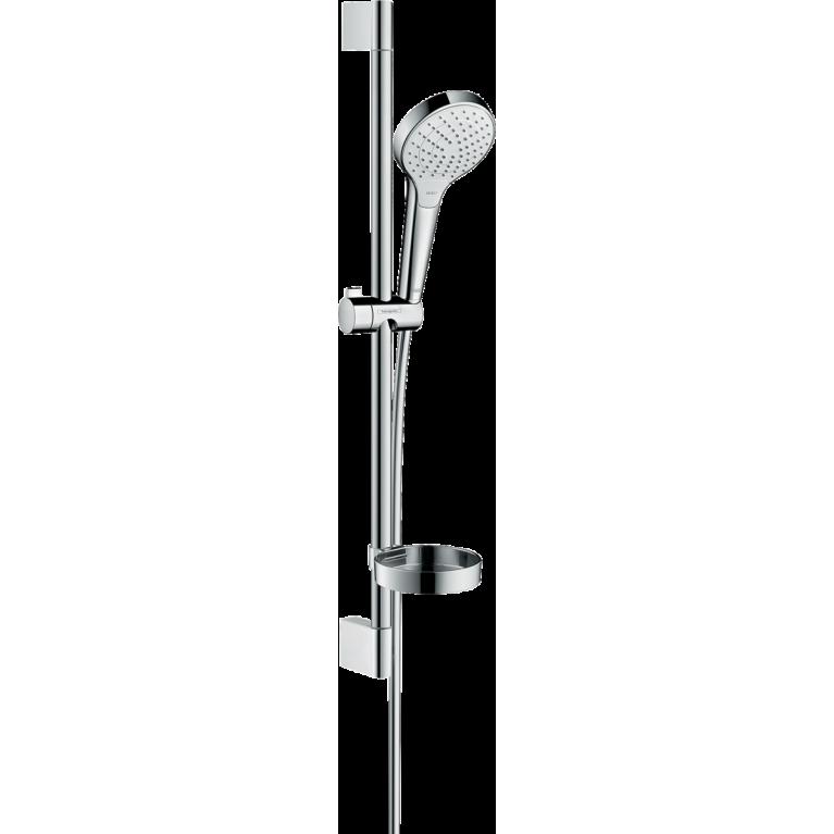 Croma Select S Vario Душевой набор, штанга 65 см и мыльницей белый хром, фото 1