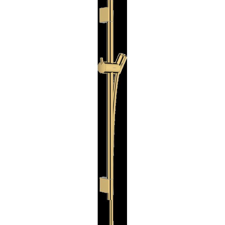 UNICA душевая штанга S Puro 65 см со шлангом, полированное золото, фото 1