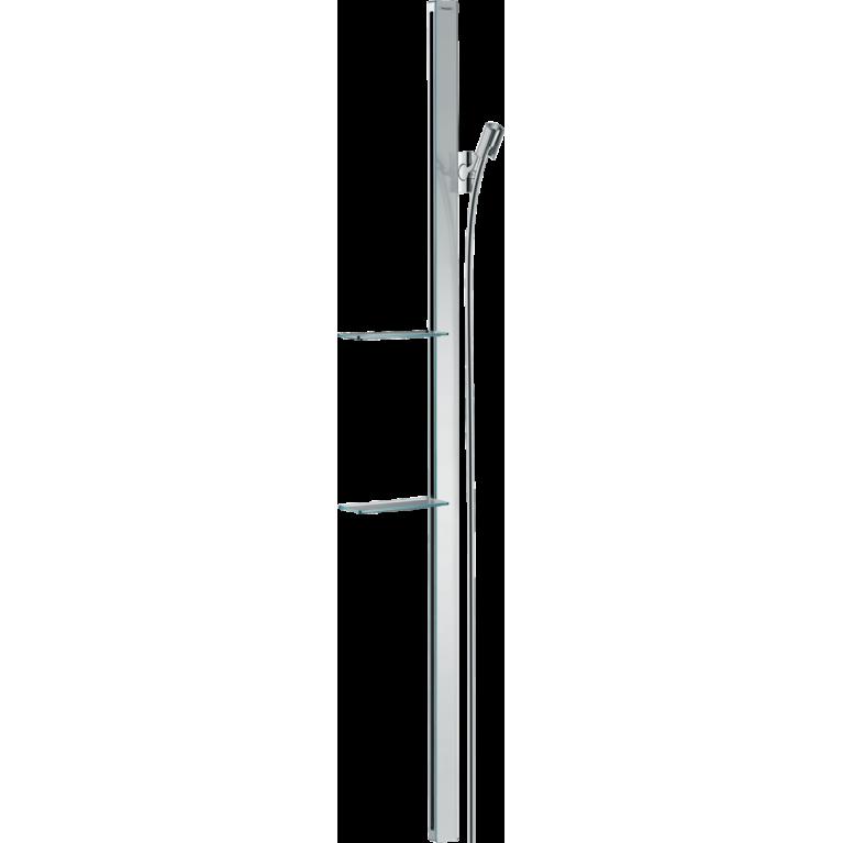 Штанга для душа hansgrohe Unica E 150 см со шлангом для душа, фото 1