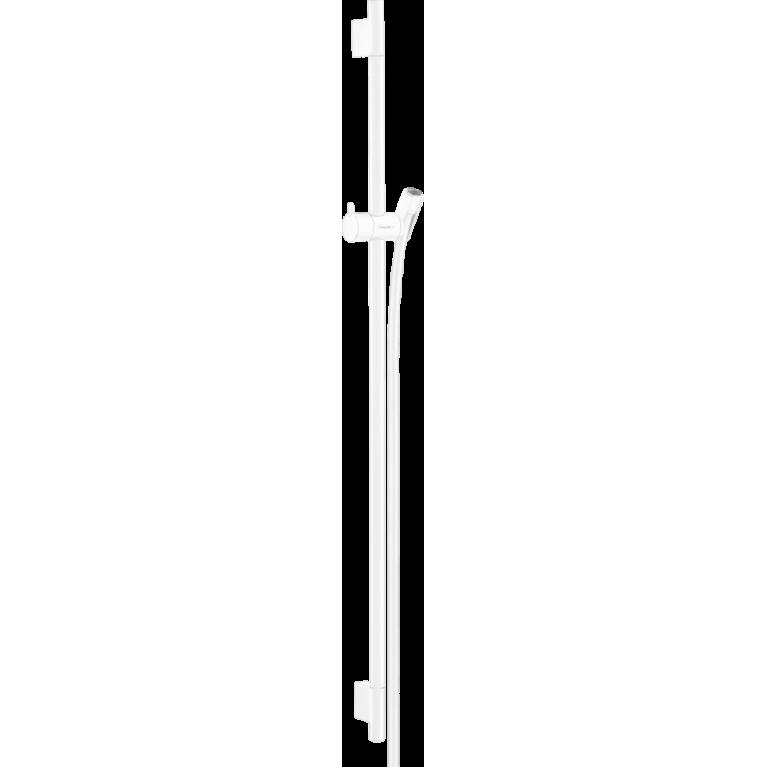 UNICA S PURO штанга душевая 90 см, со шлангом, цвет белый матовый, фото 1