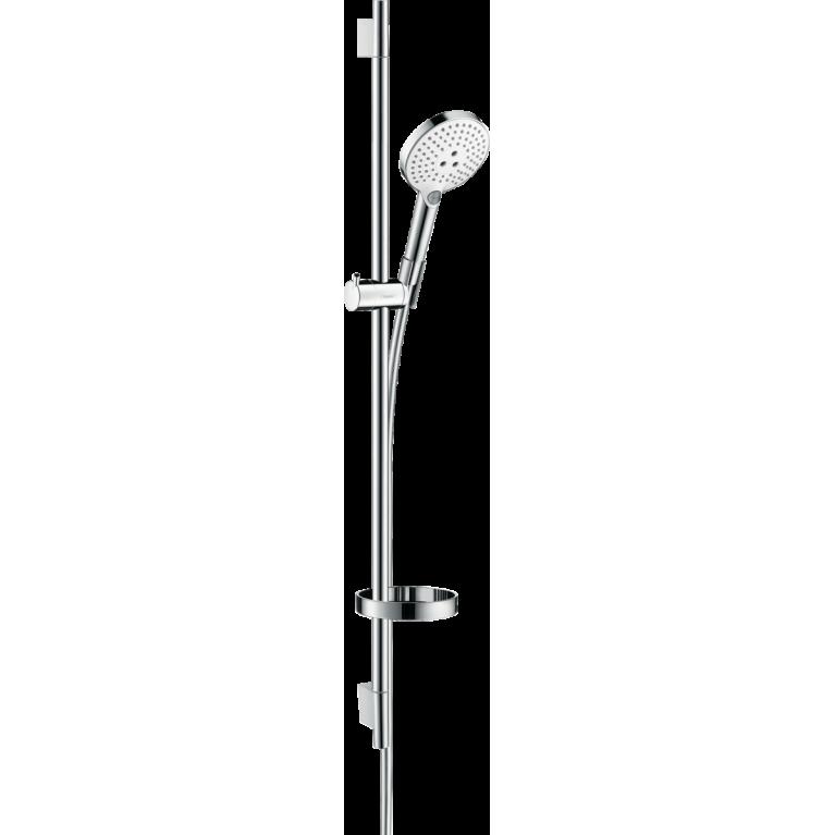 Raindance Select S Душевой набор 120 3jet со штангой 90 см и мыльницей, белый / хром, фото 1