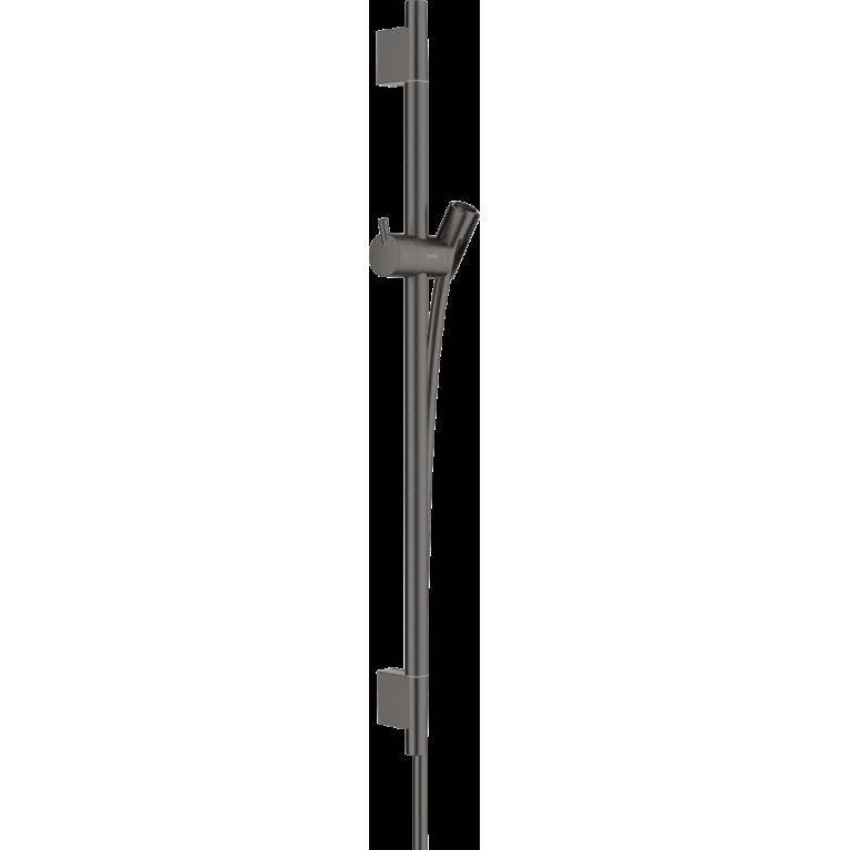 Unica Душевая штанга S Puro 65 см со шлангом (шлиф. черный хром), фото 1