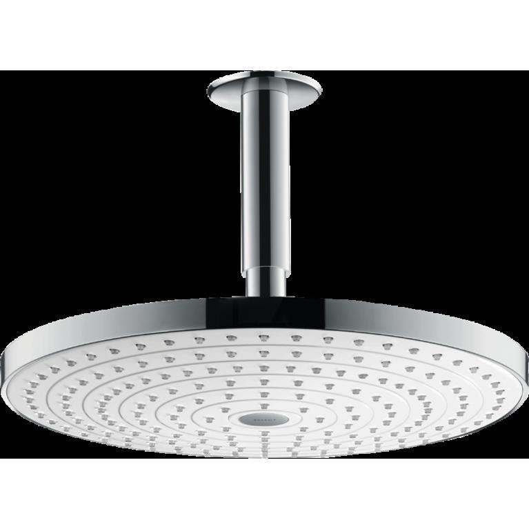 Raindance Select S 300 2jet Верхний душ с потолочным подсоединением, белый хром, фото 1