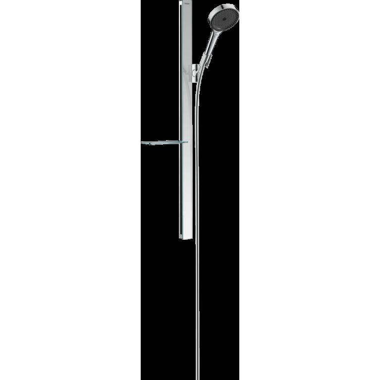 Rainfinity Душевой набор 130 3jet со штангой 90 см и мыльницей, хром, фото 1