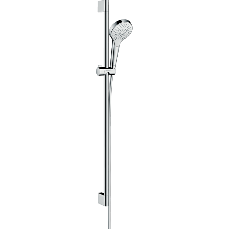 Croma Select S Multi Душевой набор EcoSmart 9л/мин 0,90м, белый/хром, фото 1