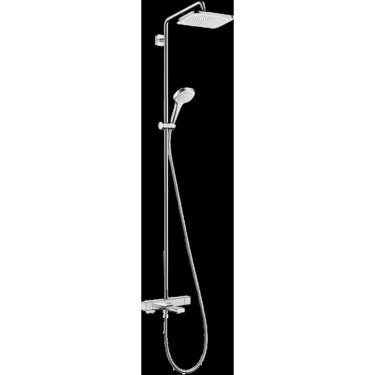 Croma E Showerpipe Душевая система 280 1jet с термостатом для ванны, хром, фото 1