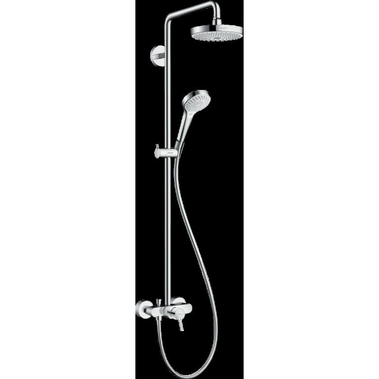 Croma Select S 180 2jet Showerpipe Душевая система с однорычажным смесителем, фото 1