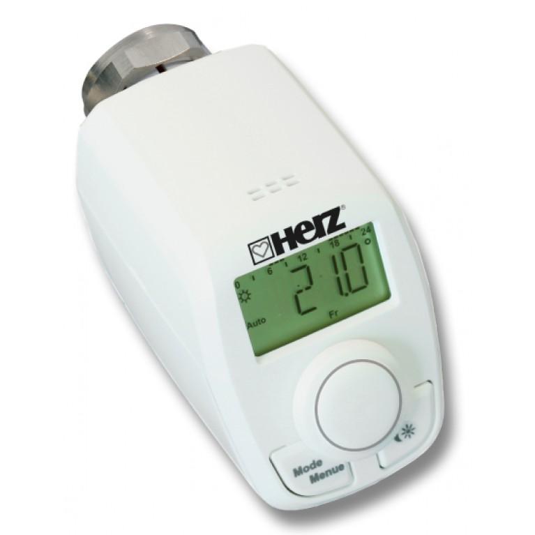 Электронная радиаторная термостатическая головка HERZ ETKF