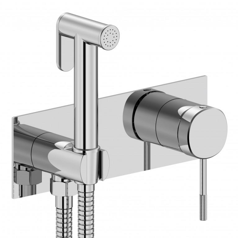 Гигиенический душ IMPRESE BRENTA смеситель скрытого монтажа, хром