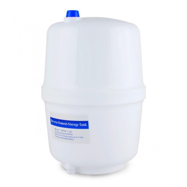Пластиковый бак для фильтров обратного осмоса, 8 л