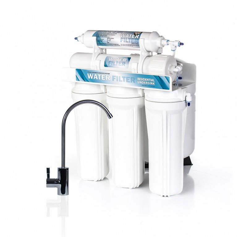 Система обратного осмоса WATER FILTER Standard WFRO-5L-50
