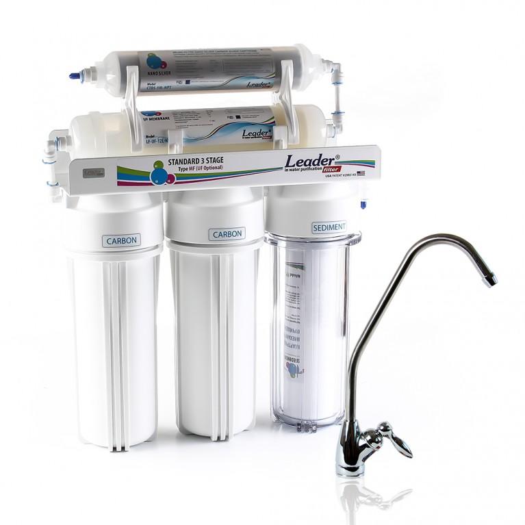 Фильтр для воды проточный Leader UF5 Silver