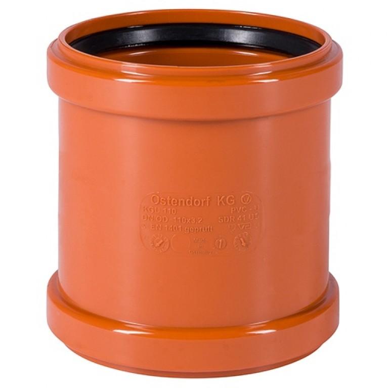 Купить Муфта ремонтная для наружной канализации Ostendorf KG 110 у официального дилера Ostendorf в Украине