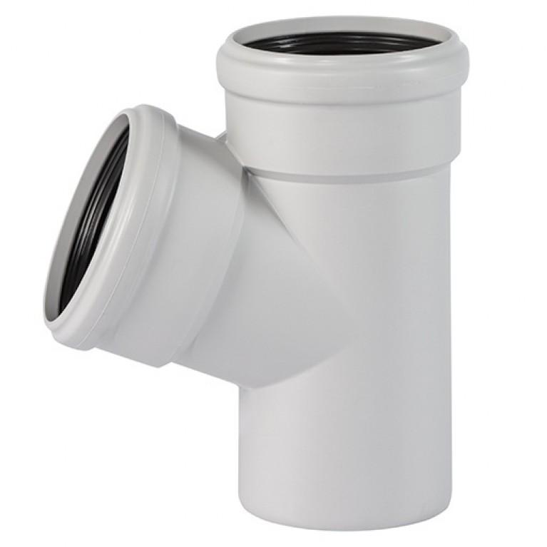 Тройник канализационный Ostendorf Skolan 110/70х67