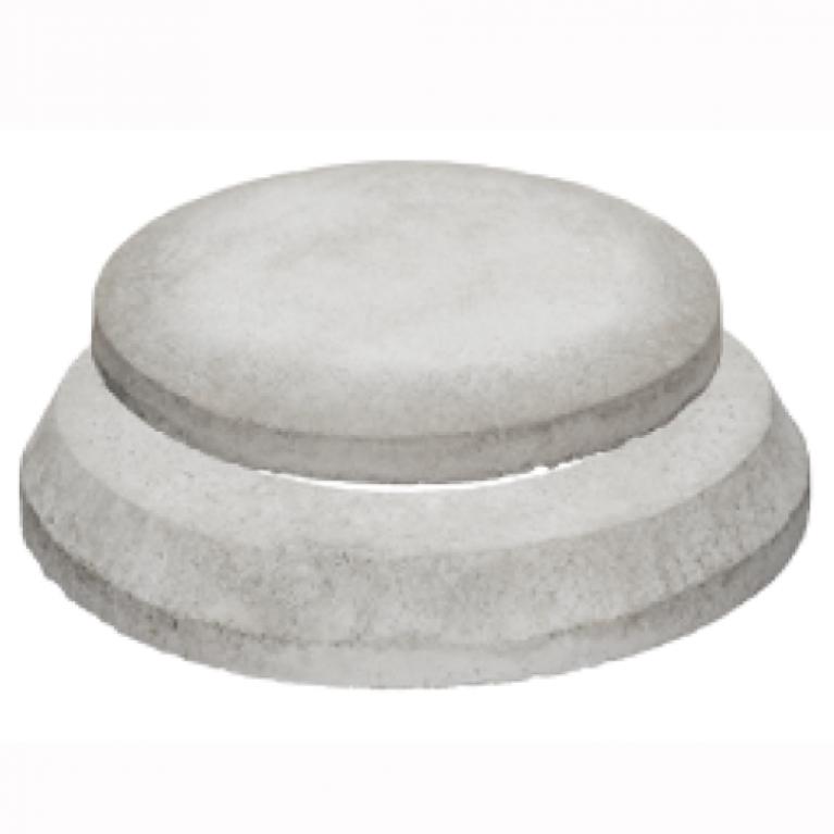 Бетонный конус с бетонным люком