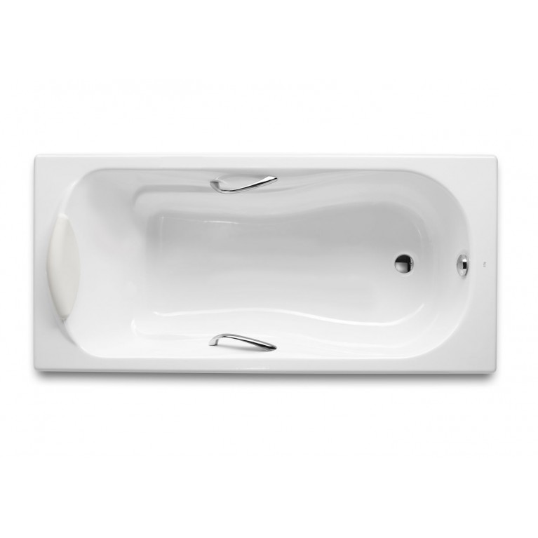 HAITI 2000 ванна чугунная 170x80 см с ручками, без ножек