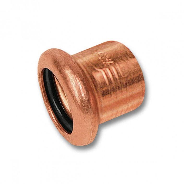 Заглушка-пресс Sanha медь, 18 тип 6301