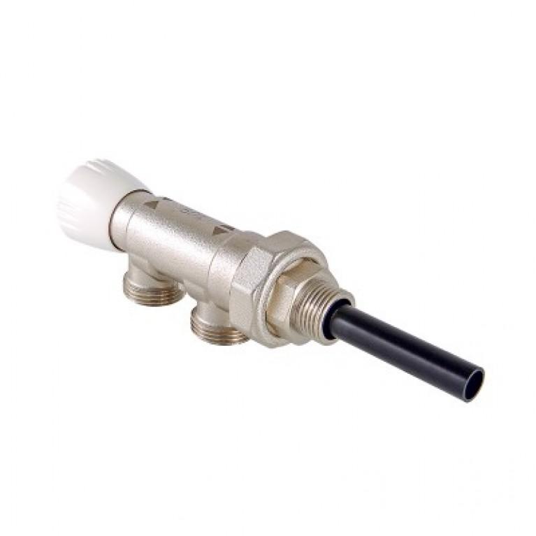 Узел инжекторный для подключения радиатора 1/2 х 100 % х 3/4, евроконус