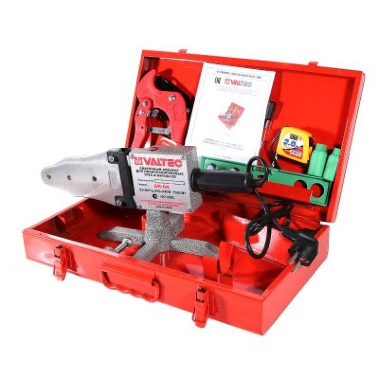 Комплект сварочного оборудования Valtec ER-04/ER-03 20-40 мм, 1500 Вт