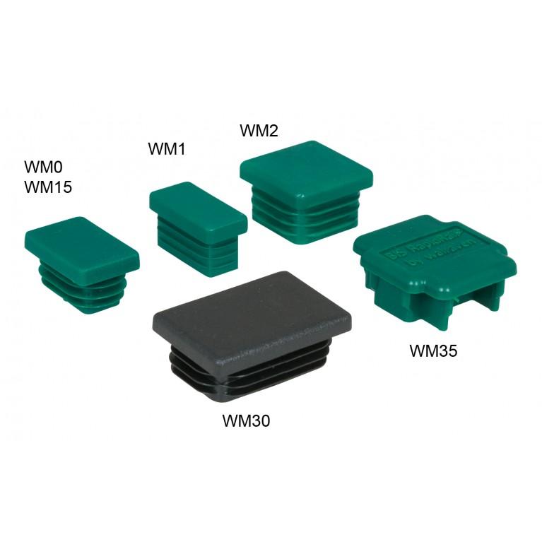 Заглушка для профиля Walraven BIS WM1 30x15 мм