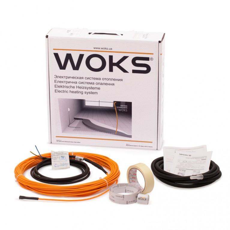 Комплект для кабельного теплого пола WOKS 10 75Вт 7,5 м