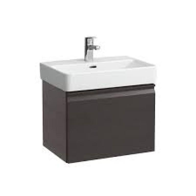 PRO S тумба 665*450*390мм, для раковины 810967, с комп.сифоном, с выдвижн.ящ., с внутр.выдв.ящ., цвет серый графит