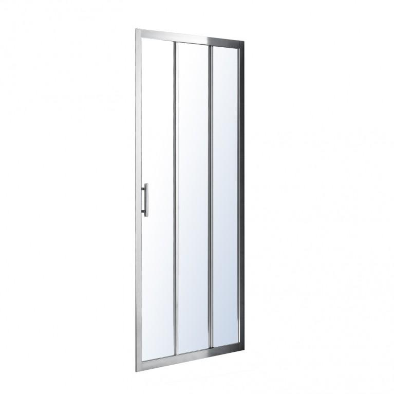 Дверь душевой кабины EGER LEXO 100x195см профиль хром