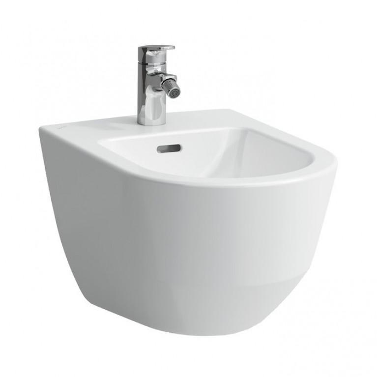 PRO биде подвесное, цвет белый, без боковых отв. для подвода воды