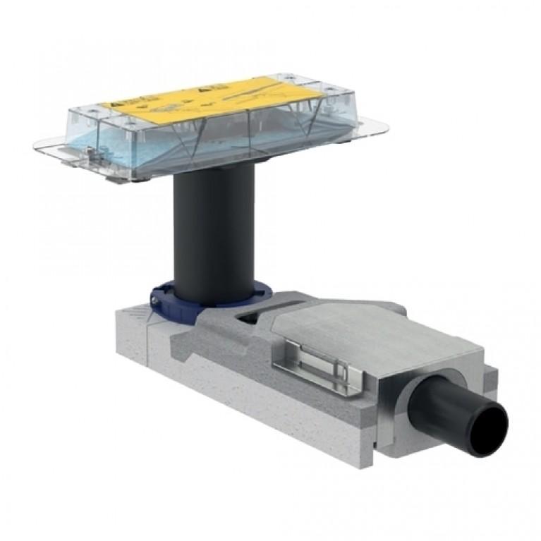 Geberit Набор для дренажных каналов CleanLine, конструкции пола высотой от 90 мм, L30cm