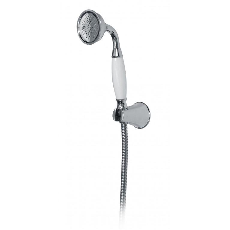 PODZIMA LEDOVE набор душевой  - ручной душ 1 режим, шланг, держатель