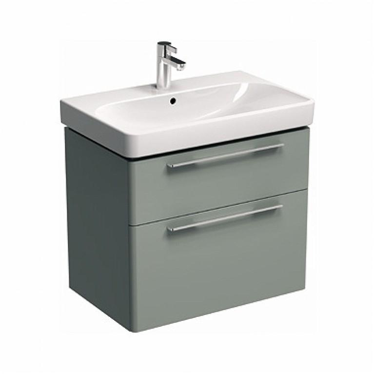 TRAFFIC шкафчик под умывальник 56,8*62,5*46,1 см, платиновый глянец (пол.), фото 1