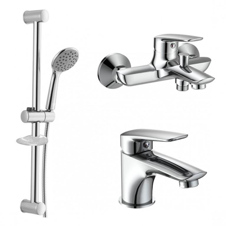 PRAHA new набор для ванны (05030 new + 10030 new + штанга R670SD), фото 1