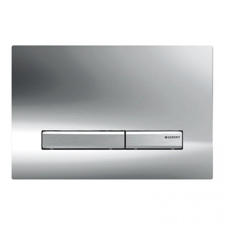 Sigma50 Смывная клавиша, двойной смыв: глянцевый хром