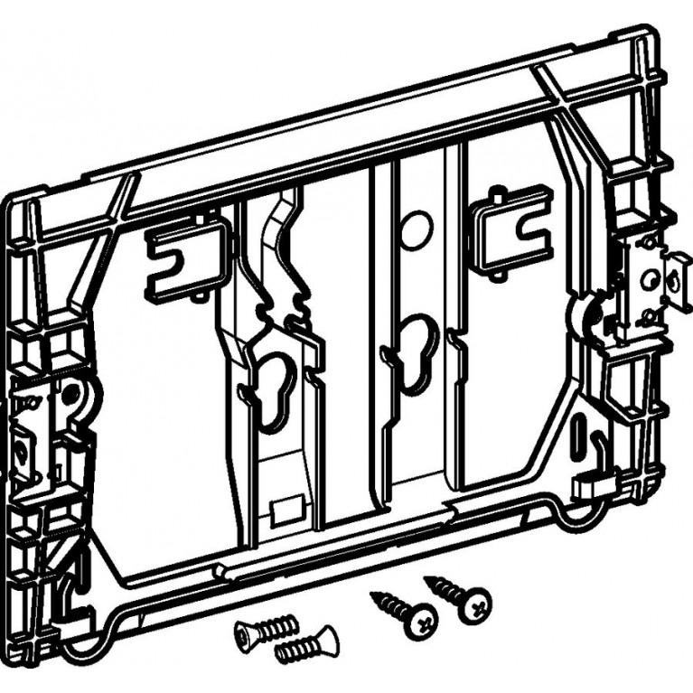 Монтажная рамка Geberit для клавиши Delta